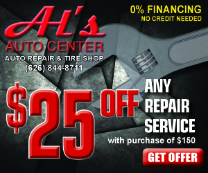 Get $25 off any repair service.