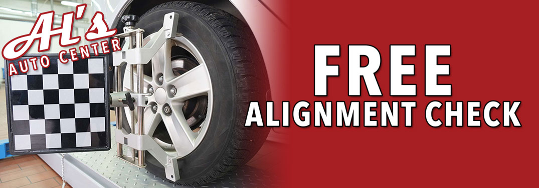 Get a free alignment check in Pasadena